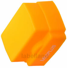Universal Silicone Sunset Orange Flash Dome Diffuser for most flashes flashguns