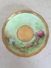 Antique Ginori Hand Painted  Saucer Made in Italy! Gorgeous!