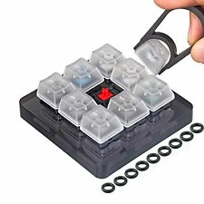 Akwox 9-Key Cherry MX Switch Tester, Keycap puller, keyboard Keycap, O-Ring Kit