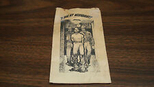 "VINTAGE 3.5"" x 6"" Testimony Pamphlet  ""I Die At Midnight""  By Ernest Gaither Jr."