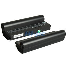 New 7800mAh Laptop Battery for Asus Eee PC AL23-901 AL23-901H AL24-1000 Black