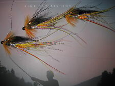3 V Fly 1 Inch Silver Cascade Feeler Francis Brass Salmon Tube Flies & Trebles