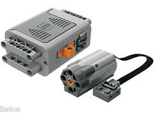 LEGO Power Functions M-Motor + Battery Box  (technic,AA,8881,8883,car,truck,ev3)