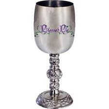 """Blessed Be"" Wiccan Small Stainless Steel Chalice!"