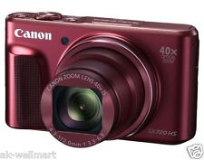 Canon PowerShot SX720HS 40x 20.3MP Compact Digital Camera Wi-Fi Red from Japan