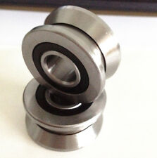 1pc new V Groove 8*30*14mm Sealed Ball Track Roller Guide Vgroove Bearing