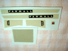 1/16 Scale  McCormick Farmall 806 Farm Toys Decals Water Transfer 1 set NOS