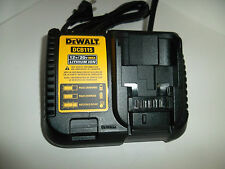 Genuine DeWalt DCB115 12V 20V Max XR LITHIUM ION FAST 4 AMP BATTERY CHARGER