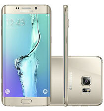 Used Samsung Galaxy S6 edge + Plus  SM-G928 32GB Gold (Sprint) Smartphone (C)