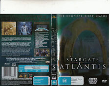 Stargate Atlantis-2004/9-TV Series USA-The Complete First Season-[5 Disc]-DVD