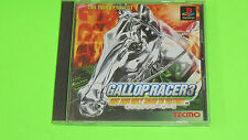 Gallop Racer 3 III  - Sony Playstation 1 PS1 import Japanese game NR MINT DISC