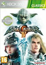 Soul Calibur IV 4 Classics ( Xbox 360 ) NEW SEALED