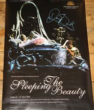 DARCEY BUSSELL SLEEPING BEAUTY SIGNED ROYAL BALLET POSTER UACC REGISTERED DEALER