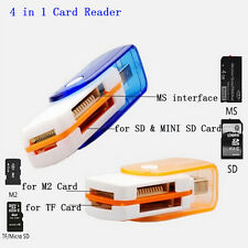 All in 1 USB Stick Memory Card Reader Adapter For M2 SD SDHC Mini SD TF Card HOT