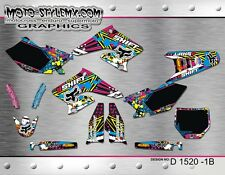 Moto StyleMX Suzuki graphics decals kit RMz 250 2004 up to 2006