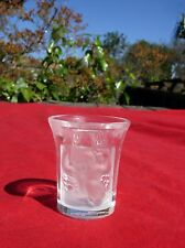 Lalique Crystal Art Glass Les Enfants Liqueur Shot Glass  signed