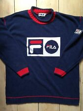 Very Rare Vintage Fila Jumper Medium Great Condition 80s 90s