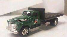 1/64 ERTL custom 1950's Chevy agco white oliver dealer truck farm toy display