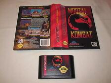 Mortal Kombat (Sega Genesis) Game Cartridge in Box Excellent!
