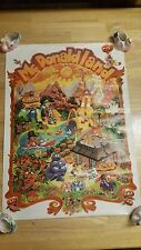 McDonaldland - Rare Vintage Original McDonalds Advertising Poster / 1973