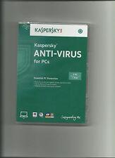 Kaspersky Anti-Virus 2014 (free upgrade to 2016) 1 PC, 1 Yr / Year