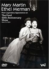 Mary Martin/Ethel Merman: The Ford 50th Anniversary Sho (2004, REGION 0 DVD New)