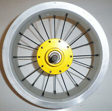 "YELLOW REAR 12"" KIDS CHOPPER KICK SCOOTER RIM PARTS 231"