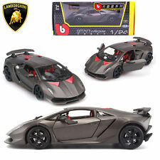 BBurago 1:24 Lamborghini Sesto Elemento Diecast Model Car Burago Vehicle Kid Toy