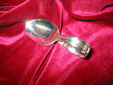 Eternally Yours Silverplate Curved Handle Baby Spoon 1847 Rogers Flatware