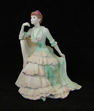 Coalport Figurine - Victoria Gardens - Age of Elegance Series - Made in England.