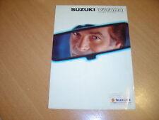 DEPLIANT Suzuki Vitara de 1998