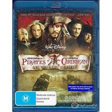 BLU-RAY PIRATES OF THE CARIBBEAN AT WORLD'S END ALL REGION NEW NOT SEALED [BN]