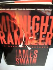 James Swain Midnight Rambler hardcover DJ 1st edition