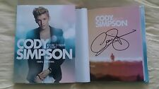 Signed Cody Simpson Welcome to Paradise My Journey 1/1 HC DJ Book Music Teen Kid