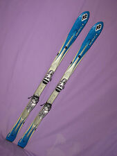 K2 T:Nine T9 Spire 160cm women's skis w/ LOOK Exclusive Plus ski bindings SNOW ~