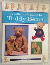 ❤A COLLECTOR'S GUIDE TO TEDDY BEARS P. FORD HB COFFEE TABLE BOOK GREAT RESOURCE❤