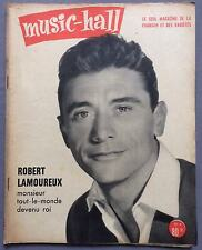 ►MUSIC HALL 6/1955 - ROBERT LAMOUREUX - ANNIE CORDY - EMILE PRUD'HOMMES