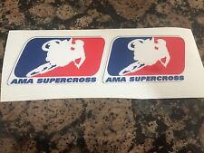 AMA SUPERCROSS LOGO DECALS STICKERS KTM CRF RMZ KX YZ YAMAHA HONDA MOTOCROSS MX