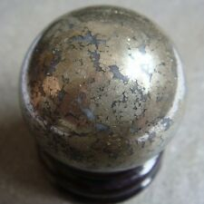 New!!! 30mm Natural Pyrite Sphere Crystal Polished Ball Healing
