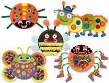 ALEX Toys Early Learning Paper Plate Bugs Kids Craft 1415 Girls Ages 2+ Build