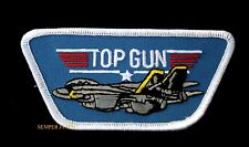 US NAVY TOP GUN TOPGUN PATCH  VF F-14 BADGE TOPGUN ICEMAN MAVERICK USS NAF NAS