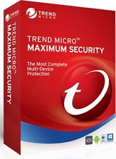Trend Micro Maximum Security 2017 | 3 PC| 1 Year | Instant Key + Download