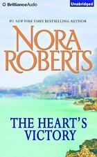 The Heart's Victory by Nora Roberts (2015, CD, Unabridged)