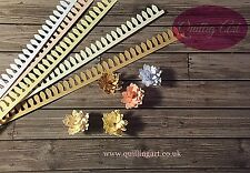 Quilling paper flowers- Pastels Daisy Cutted 12mm x 280mm x 120gsm