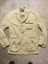 Vintage POLO RALPH LAUREN Tan / Brown Canvas Duck Hunting / Field Jacket Medium