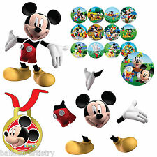 17 Piezas Disney Mickey Mouse Playful Clubhouse encontrar Mickey Party Game Set
