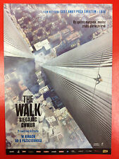 Joseph Gordon-Levitt - THE WALK - Polish promo FLYER