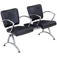 Salon Barber Waiting Chairs for 2 People - C-340