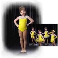 Leotard Only Dance Costume Jazz Tap Ballet LEMONDROP Mix N Match CXS,CXL,AM,AL