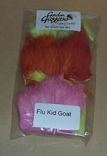 Gordon Griffiths Kid Goat Hair Fluorescent Colours Mixed Pack 5 Pcs